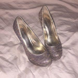Sparkly 9 west heels